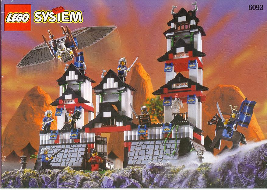 how to build a lego castle from your own legos
